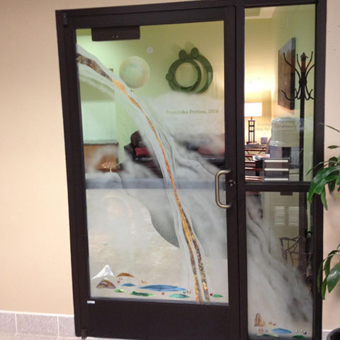 Redding Dentist Front Door