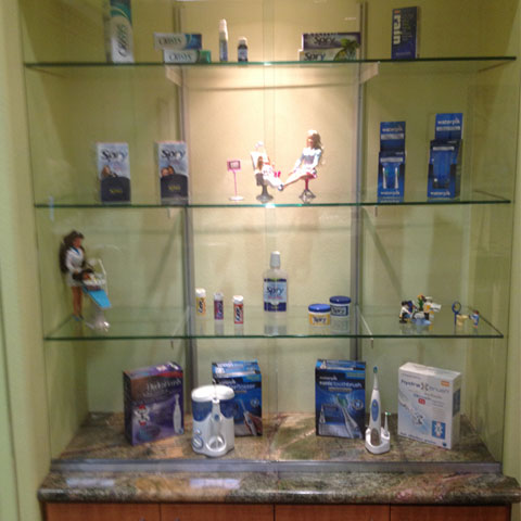 Redding Dentist Display Case